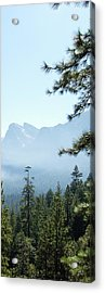 3 Of 4 Controlled Burn Of Yosemite Section Acrylic Print