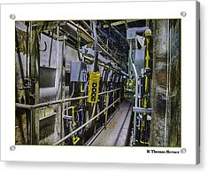 Acrylic Print featuring the photograph Controls by R Thomas Berner