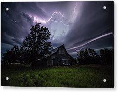Acrylic Print featuring the photograph Convergence  by Aaron J Groen
