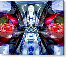 Convergence Abstract Acrylic Print by Alexander Butler