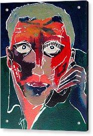 Conversation Acrylic Print by David Studwell