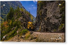 Conway Scenic Railroad Notch Train. Acrylic Print