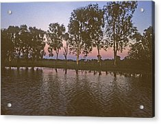 Cooinda Northern Territory Australia Acrylic Print by Gary Wonning