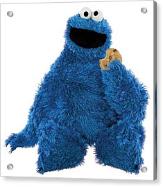 Cookie Monster Acrylic Print