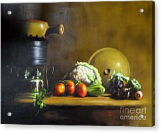 Cooking Acrylic Print
