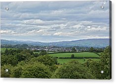 Cookstown Viewed From Tullyhogue Fort Acrylic Print