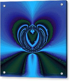 Cool Blue Acrylic Print