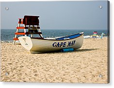 Cool Cape May Beach Acrylic Print