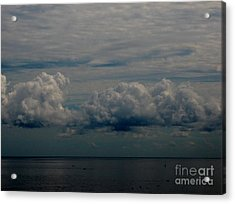 Cool Clouds Acrylic Print