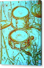 Cool Drums Acrylic Print