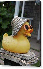 Cool Ducky Acrylic Print