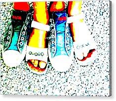 Cool Feet Acrylic Print by Funkpix Photo Hunter