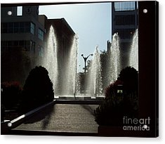 Cool In St. Louis Acrylic Print by Denise Workheiser