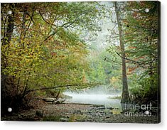 Acrylic Print featuring the photograph Cool Morning by Iris Greenwell