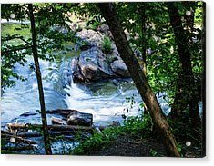 Cool Mountain Stream Acrylic Print