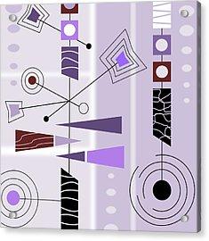 Cool New Purple Acrylic Print