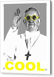 Cool Pope  Acrylic Print