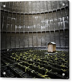 Acrylic Print featuring the photograph Cooling Tower Petit Maison by Dirk Ercken