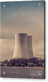 Acrylic Print featuring the photograph Cooling Towers by Edward Fielding