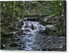 Cooling Waters  Acrylic Print by Tamyra Ayles