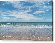 Coonah Waves Acrylic Print