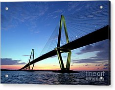 Cooper River Bridge Charleston Sc Acrylic Print