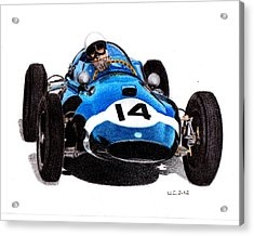 Cooper T51 Stirling Moss 1959 Acrylic Print by Ugo Capeto