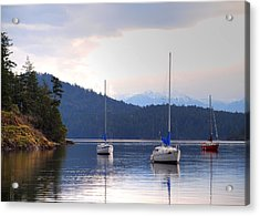Cooper's Cove 1 Acrylic Print by Randy Hall