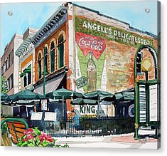 Acrylic Print featuring the painting Coopersmith's Again by Tom Riggs