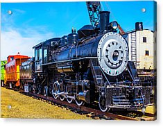 Coos Bay Lumber Company Train 104 Acrylic Print by Garry Gay