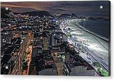 Copacabana Lights Acrylic Print