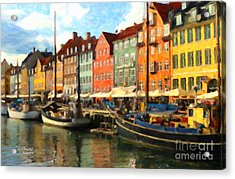 Copenhagen Acrylic Print
