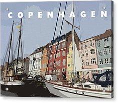 Copenhagen Memories Acrylic Print by Linda Woods