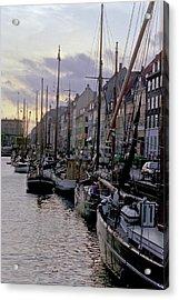 Copenhagen Quay Acrylic Print