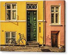 Copenhagen Transportation Acrylic Print