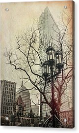 Acrylic Print featuring the photograph Copley Square - Boston by Joann Vitali