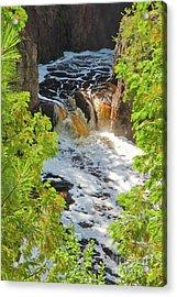 Copper Falls Acrylic Print