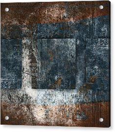 Copper Finish 1 Acrylic Print by Carol Leigh