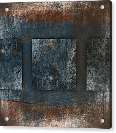 Copper Finish 2 Acrylic Print by Carol Leigh