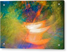 Copper Light Acrylic Print by William Wetmore