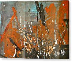 Copper Moon Acrylic Print