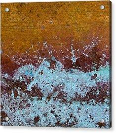 Copper Patina Acrylic Print by Carol Leigh