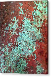 Copper Patina No. 22-1 Acrylic Print