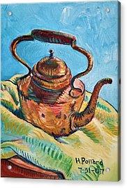 Copper Teapot Acrylic Print