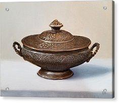Copper Vessel Acrylic Print