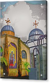 Coptic Church Rebirth Acrylic Print by Joseph Hollingsworth