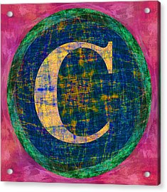Copyright Character Acrylic Print by Gregory Scott