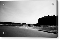 Coquille Point Acrylic Print