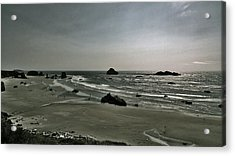 Coquille Point Iv Acrylic Print