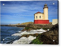 Coquille River Lighthouse At Bandon Acrylic Print